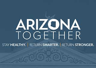 Logo for Arizona Together resource page